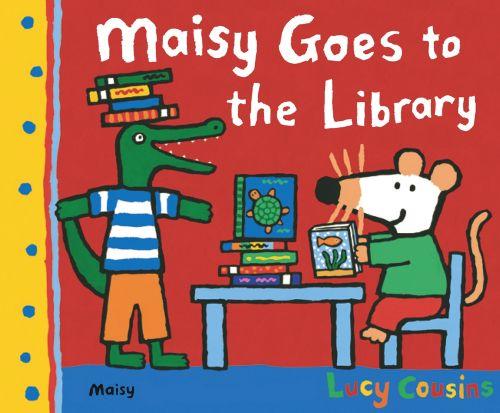 Maisa pitää kirjojen katselemisesta ja lukemisesta. Mikäpä olisi parempi idea kuin sadepäivän viettäminen kirjastossa uusiin asioihin tutustuen mielenkiintoisten kirjojen avulla.