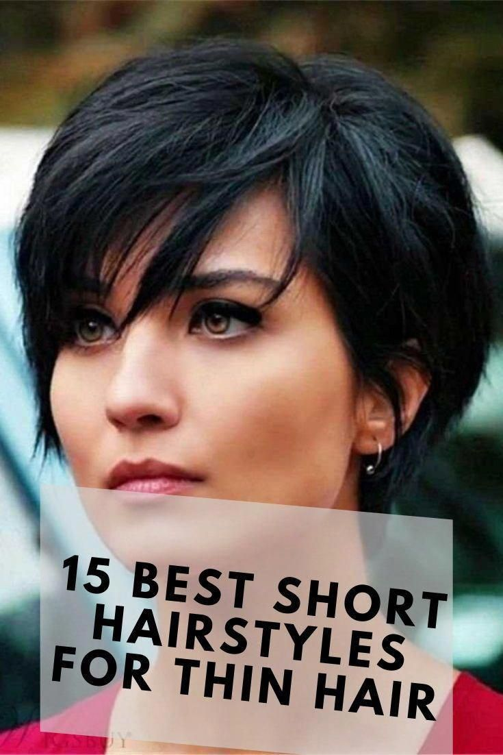 Short hairstyles for women are always fascinating. if you have fine hair you need a perfect short hairstyles for fine hair. click here to get 15 mesmerizing Short Hairstyles for Thin Hair to catch some eyes. #shorthairdontcare #shorthaircut #thinhair #finehair #bobhairstylesforfinehair