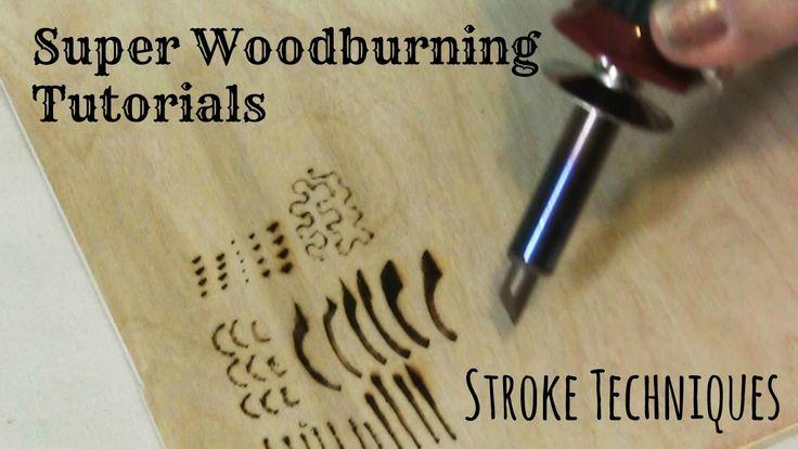 Quema de madera y pirografía y pirograbado - Técnicas de trazo y Tutorial