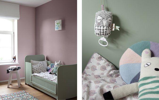Warm door het paars met groen te combineren | Colora