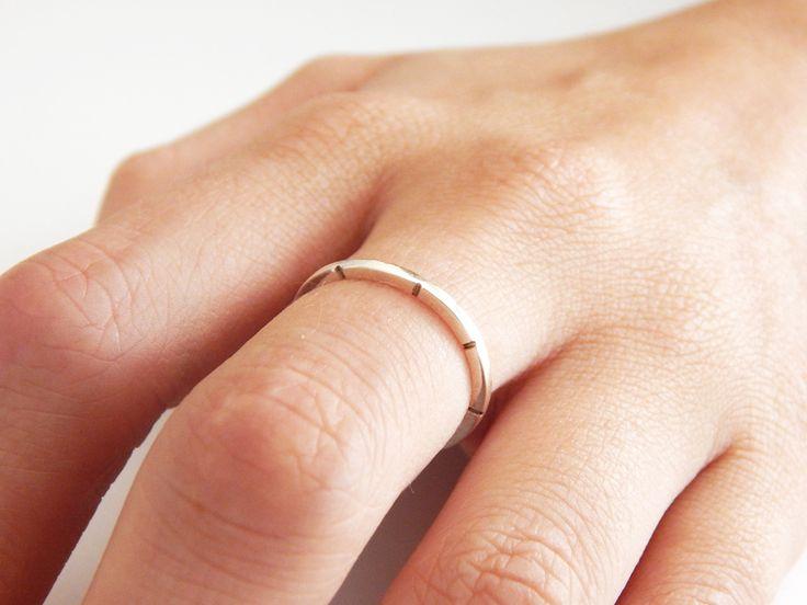 Handmade JOURNEY Sterling Silver Ring