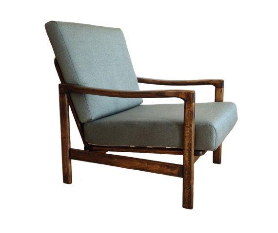 Fauteuil jaren 60, halverwege de eeuw, de jaren 1960, lounge fauteuil