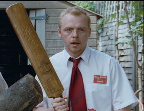 Zombie Weapon of Choice if your British? Cricket Bat