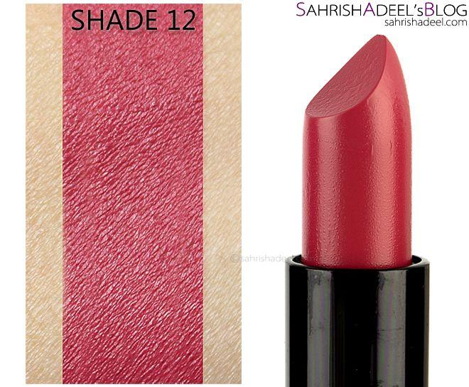 Velvet Matte Lipsticks by Golden Rose Cosmetics - Review