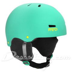 Casco snow Red Trace Radical