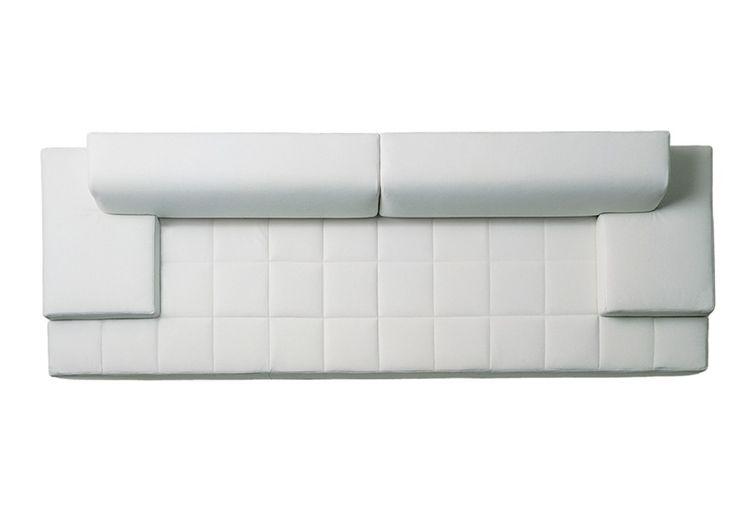 Sofa Top View Quadra 2 Seater Sofa Low Arms