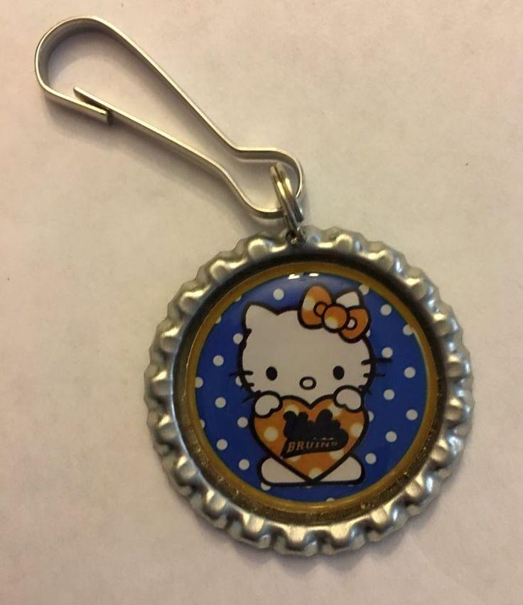 UCLA Bruins Hello Kitty Inspired Zipper Pull Purse Pull keychain lanyard clip  | Sports Mem, Cards & Fan Shop, Fan Apparel & Souvenirs, College-NCAA | eBay!