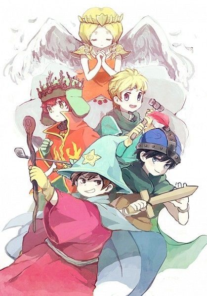 South Park stick of truth fan art