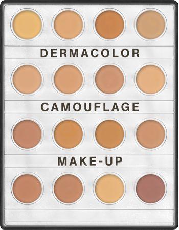 Dermacolor Camouflage Creme Mini-Palette 16 Colors | Kryolan - Professional Make-up