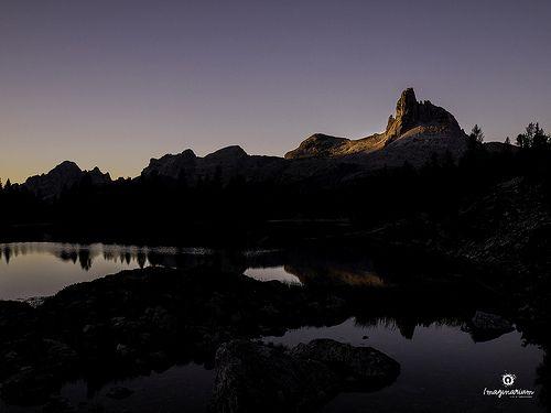 Landscape 004 / 2013 - Rifugio Palmieri (Italy) - Un giorno nuovo