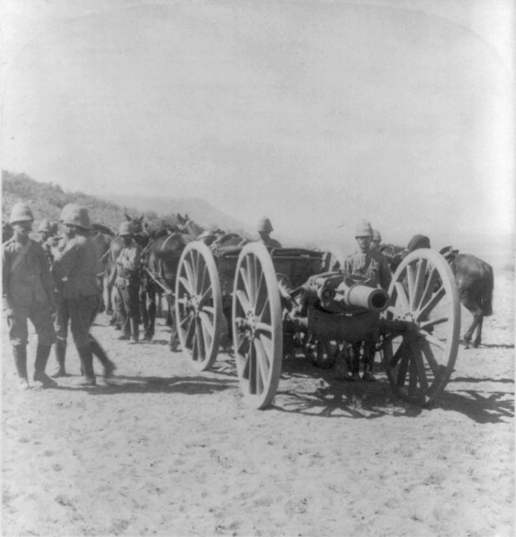 "British 5"" Howitzer. Boer War 1901"