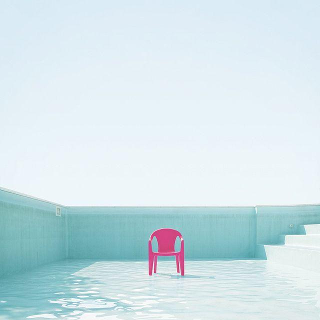 Paula Mastrangelo for Playground Magazine. Beautiful weird and colorful shot using pink and turquoise.