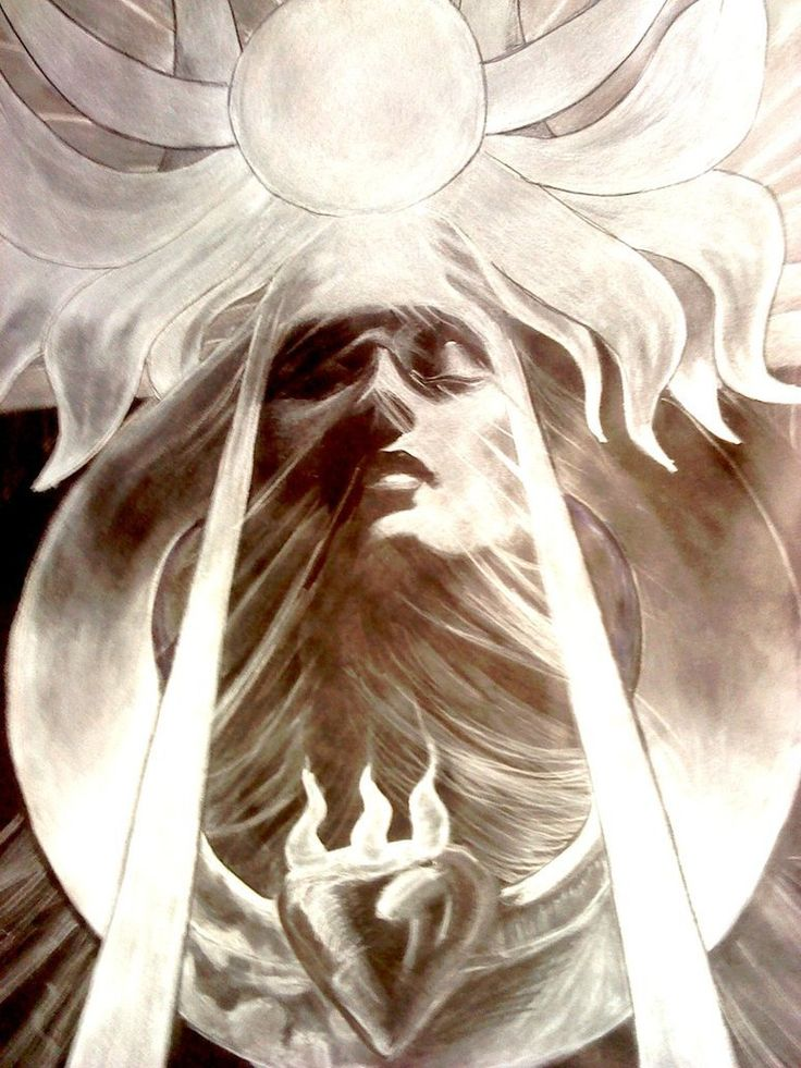 """arsifal  """"Jean Delville's drawing of Parsifal was done around 1885 at the height of the Occult Revival in Europe. In this stylized image, he depicts the secret of the dog-headed clairaudience: the eustacian tubes, columns of air that work like antennae to mediate frequencies beyond the range of normal hearing.  He shows the columns shooting down from Parsifal's ears, and around the head, the horns of clairvoyance, another set of antennae but receptive to light rather than sound,..'' visit…"""