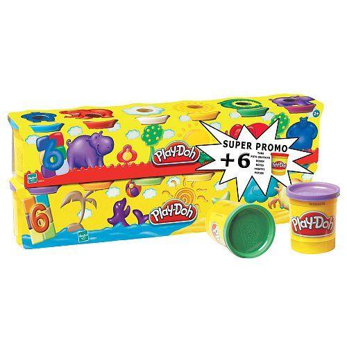 Play-Doh - Pâte à #Modeler - 6 Pots + 6 Pots Gratuits #pate #play #dooh #