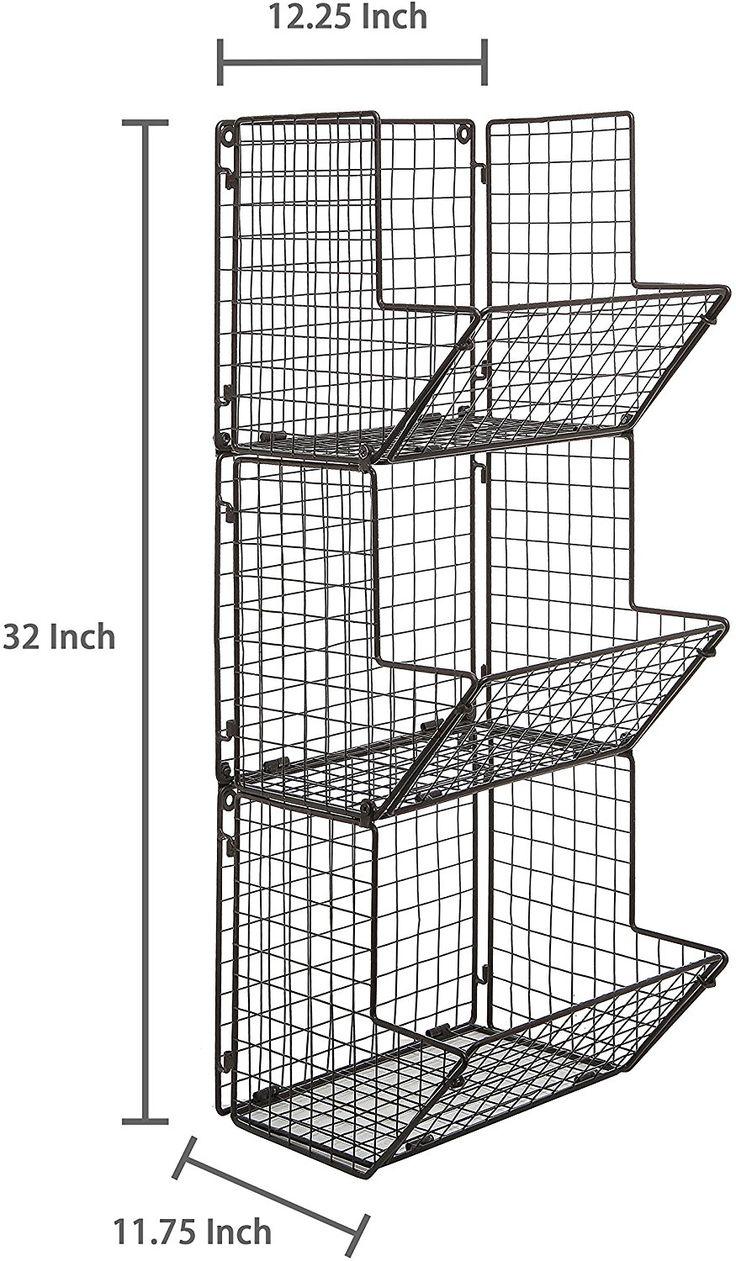 Best 25+ Wall mounted storage bins ideas on Pinterest