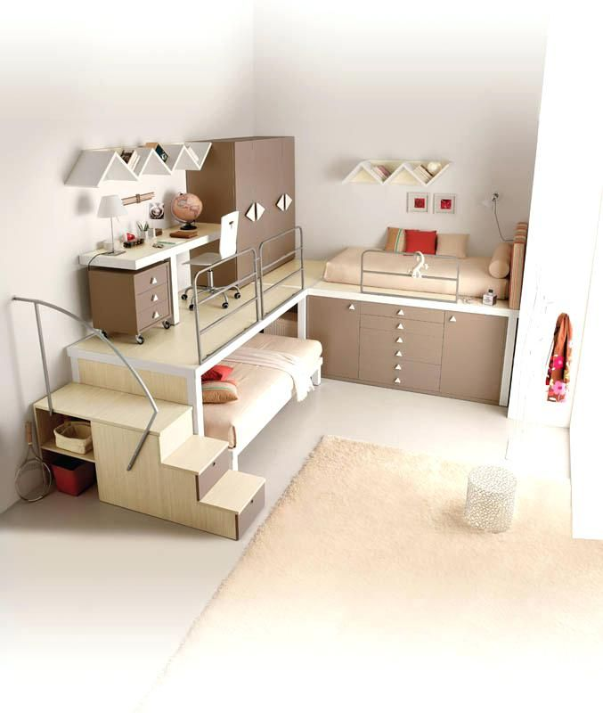 32 Space Saving Furniture Ideas For Small Kids Bedroom