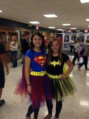 Halloween Super Hero Costumes!