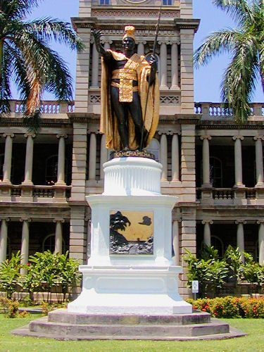 Statue of Kamehameha I, Honolulu, O'ahu, Hawaii - Photo by John Fischer, licensed to About.com