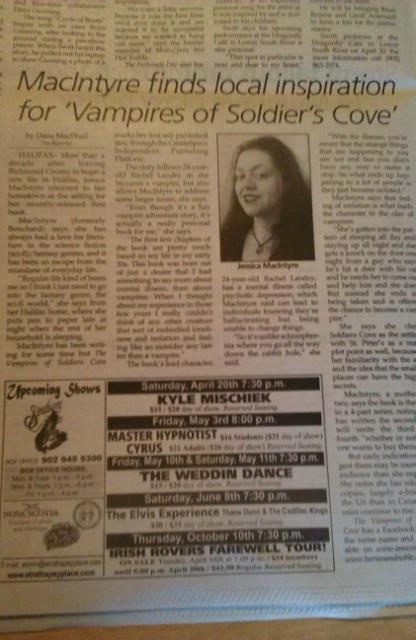 An article in, The Reporter about the book!