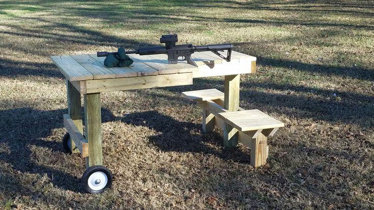 Portable Shooting Bench