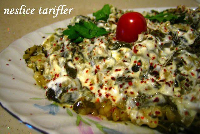 ! ♪♫♪ Neslice Tarifler ♪♫♪ !: Asma Yaprağı Salatası