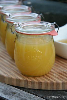 Cytrynowy dżem z cukini