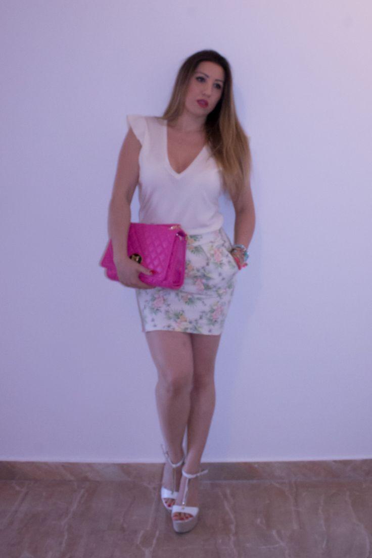 Primo outfit con la mia bag Moschino Barbie