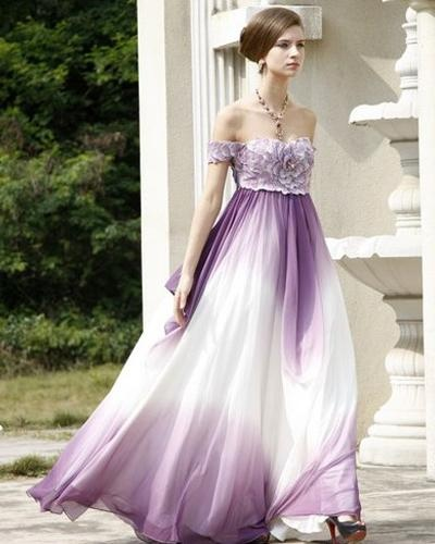 Ombre Wedding Dress: 22 Best Images About Wedding Dresses In Ombre On Pinterest