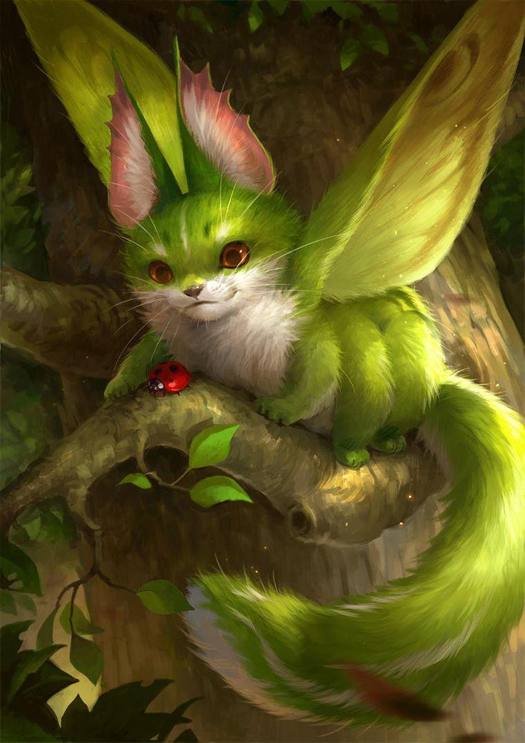 картинка волшебных существ каждый