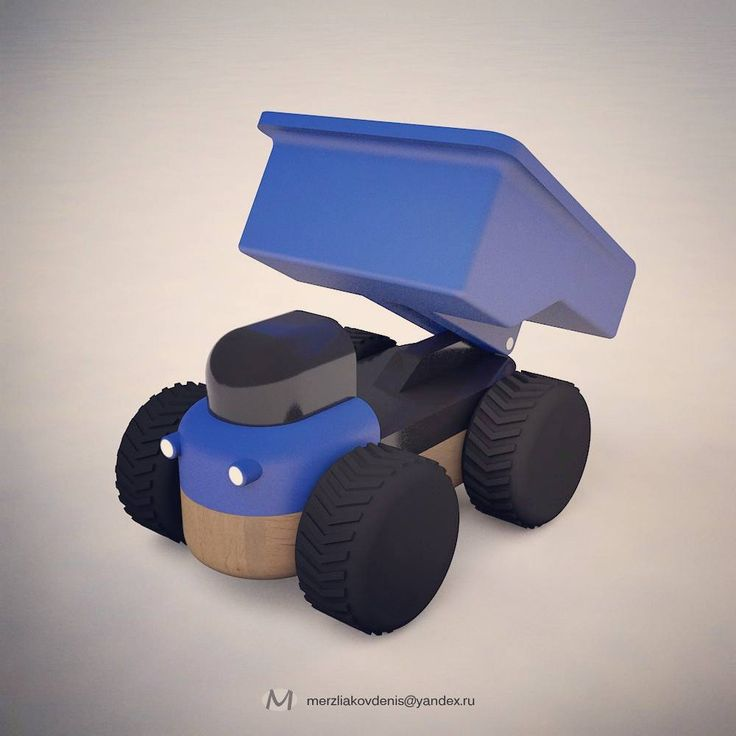 1 отметок «Нравится», 1 комментариев — мерзляков (@denismerzliakov) в Instagram: «#3d #model #car #toy #game #cinema #cartoon #3dprinting #tipper #truck #dumper #constructor #design…»