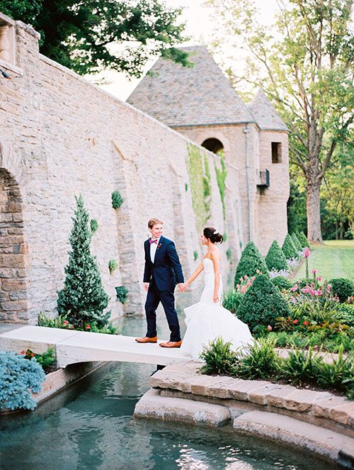 Flower-Filled Hometown Wedding in Cincinnati | Brides.com