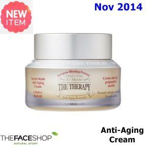 New November 2014     US$35.9   [ TheFaceShop ] The Therapy Secret Made Anti-Aging Cream 50ml (New 2014), Korean Best Cosmetics, free shipping