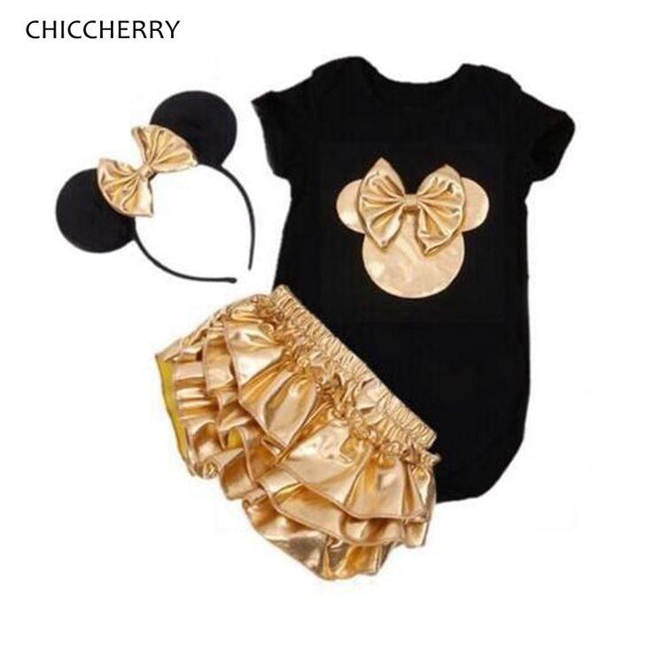 $16.89 (Buy here: https://alitems.com/g/1e8d114494ebda23ff8b16525dc3e8/?i=5&ulp=https%3A%2F%2Fwww.aliexpress.com%2Fitem%2FFashion-2016-Minnie-Short-Sleeve-Baby-Girl-Summer-Clothes-Bodysuits-Bloomers-Headband-Infant-Clothing-Newborn-Baby%2F32694876667.html ) Fashion 2016 Minnie Short Sleeve Baby Girl Summer Clothes Bodysuits Bloomers Headband Infant Clothing Newborn Baby Gift Set for just $16.89