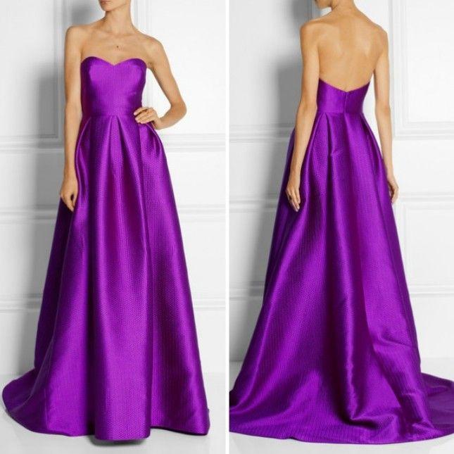 rich purple wedding dress | itakeyou.co.uk: