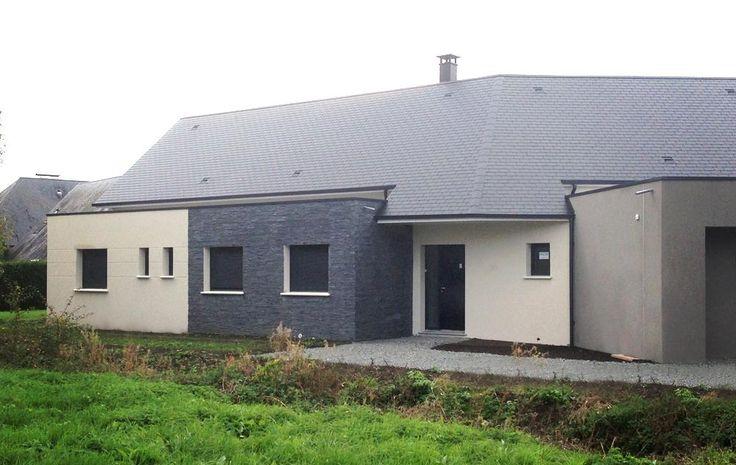 Construction à EMIEVILLE (14630) #Habitat #Concept #HabitatConcept #Constructeur #Maison #plan #idée #inspiration