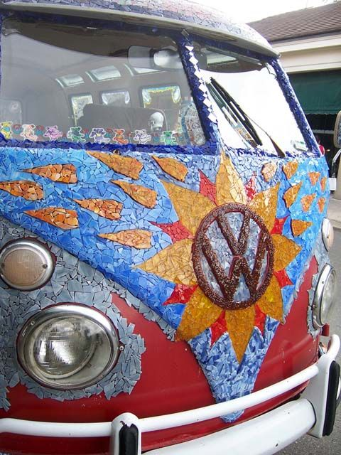 A VW Bus screams road trip. It may not be in one of these but the road will be ours one day baby!