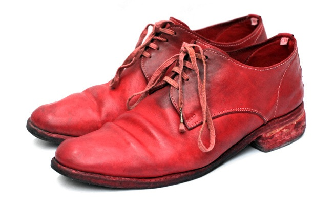 Unlined Cordovan Derby by Carol Christian Poell