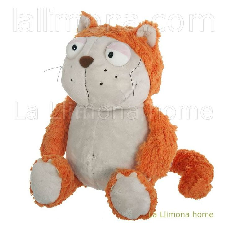 Nici peluches y complementos - Nici gato Hungry peluche 45