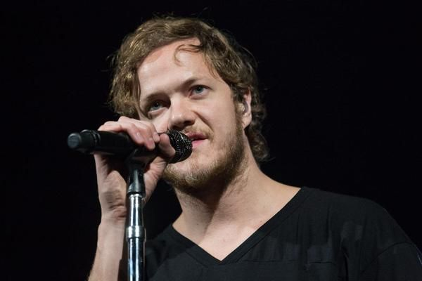 Imagine Dragons performing in Portland at the  Moda Center  Photos by David Greenwald
