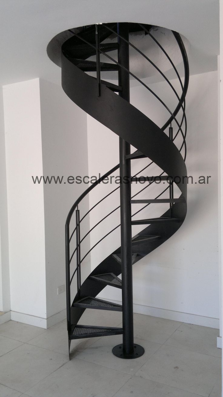 Best 25 escalera caracol ideas on pinterest escaleras - Barandas de escalera ...
