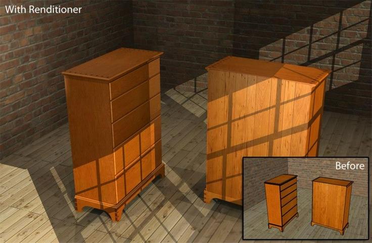 Furniture 3D model  Rendering done in IMSI Design s Renditioner plugin for  Google SketchUp  SketchUp  Before  version included. Furniture 3D model  Rendering done in IMSI Design s Renditioner