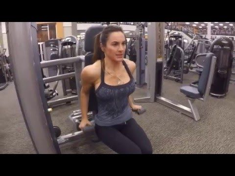 8 Week Body Transformation: Day 29 Triceps and Abs - Fitness Food Diva