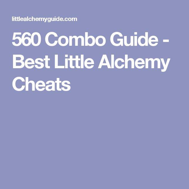 560 Combo Guide - Best Little Alchemy Cheats
