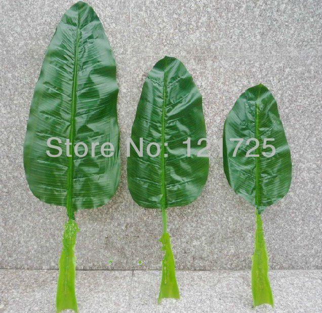 Искусственные листья банана, украшения дома, искусственные цветы шелк, искусственные растения natural touch