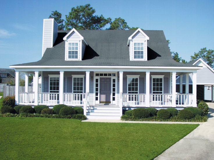 Double Dormers Add Curb Appeal - plan #024D-0011   houseplansandmore.com