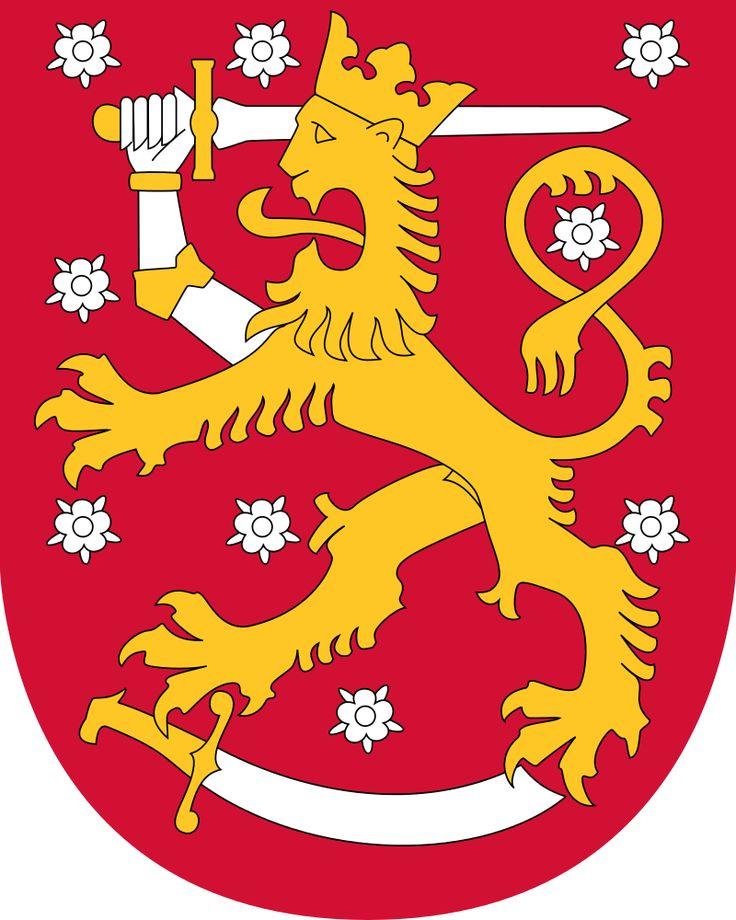 Brasão de armas da Finlândia
