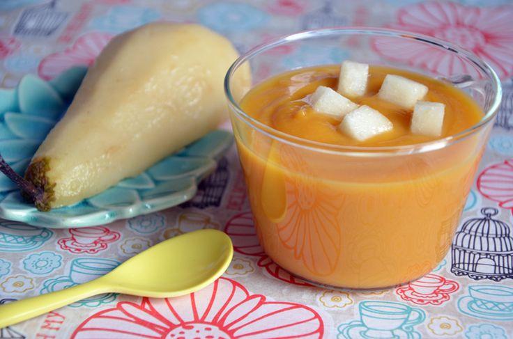 soupe patate douce panais et poire