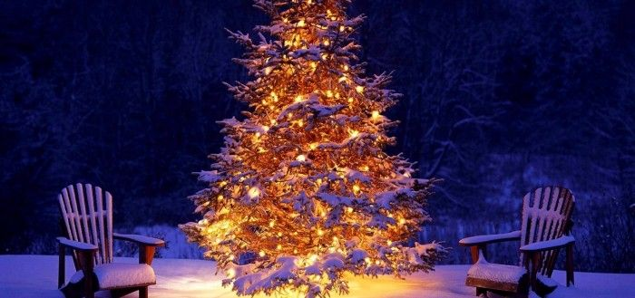 Christmas Outdoor Decorations wallpaper