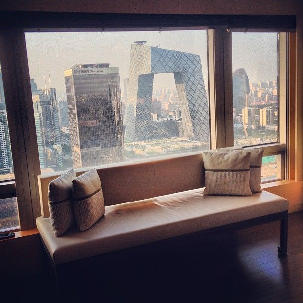 Now that's a view. Photo courtesy of @nickland17 at Park Hyatt Beijing.