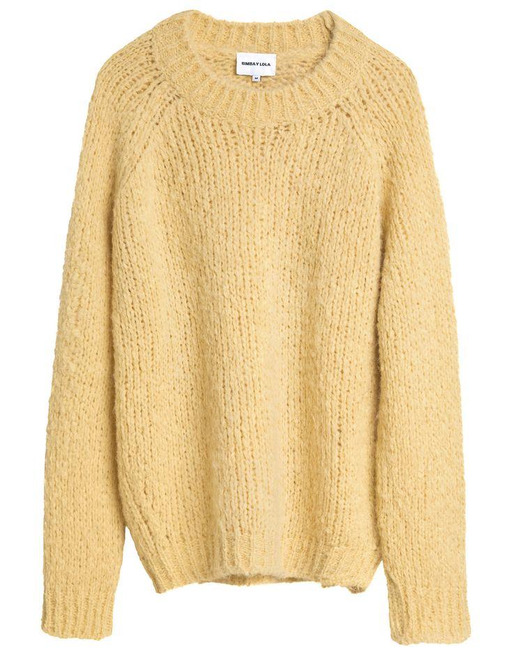 Jersey básico amarillo 125 > 87 EUR | BIMBA Y LOLA ®